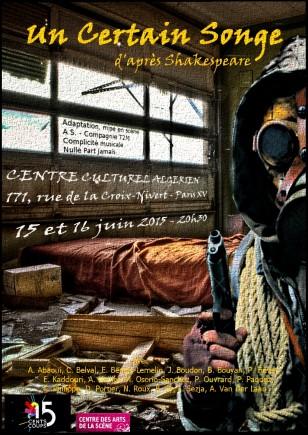 spectacle classes professionnelles Centre des Arts de la Scène